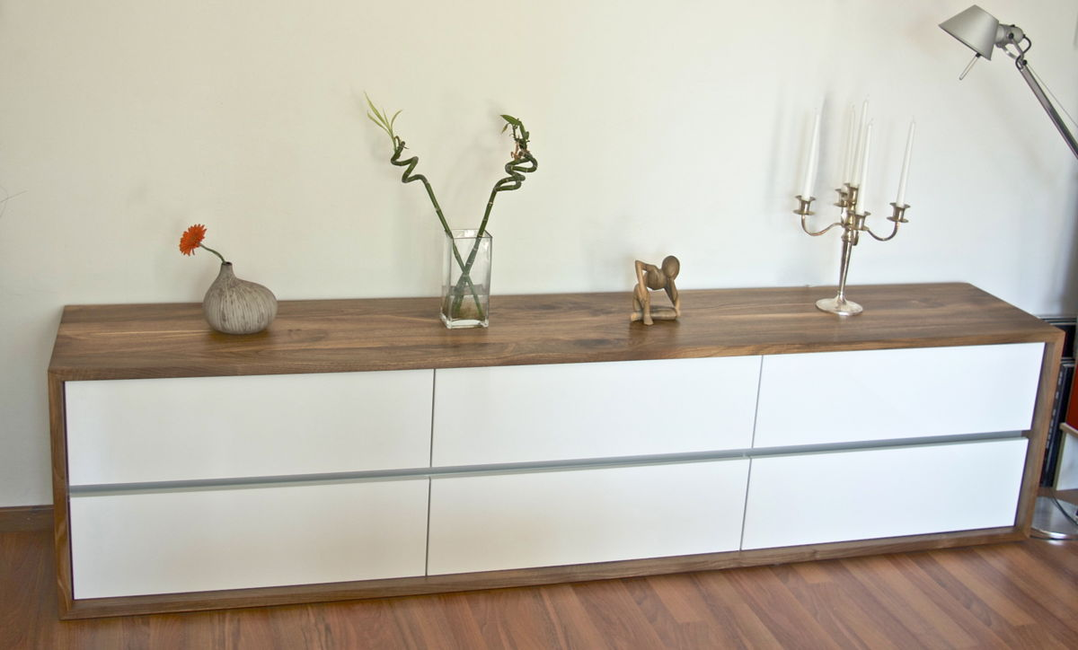 Möbel design sideboard  Schork Architekten